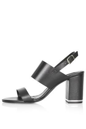 Topshop Raffy Block Heel Sandals
