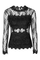 Topshop Tall Lace Shell Top