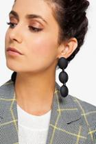 Topshop 3 Drop Resin Earrings