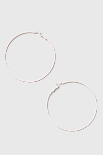 Topshop Rubberised Hoop Earrings