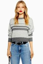 Topshop Petite Super Soft Stripe Jumper