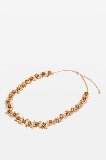 Topshop *flower Hair Chain By Topshop Bride