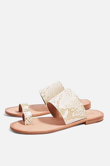 Topshop Fetch Toe Loop Sandals