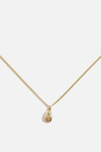 Skinny Dip *gold Cowry Necklace By Skinnydip