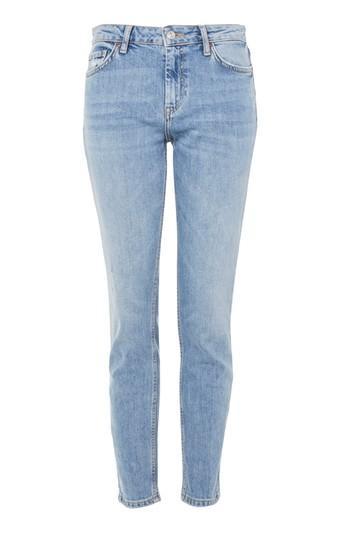 Topshop Moto Bleach Baxter Slim Leg Jeans