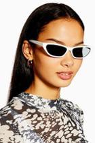 Topshop Vera Slim Sunglasses