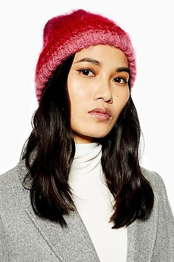 Topshop Brushed Ombre Beanie
