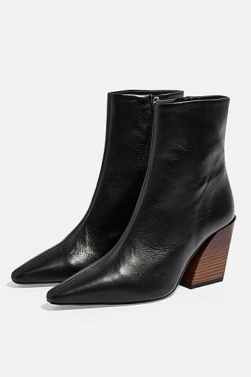 Topshop Henley Western Boots