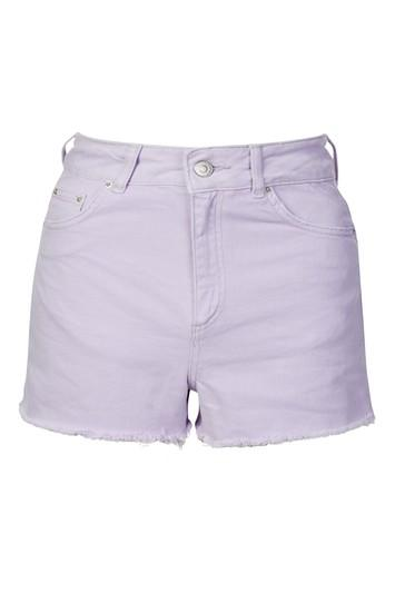 Topshop Moto Lilac Mom Shorts