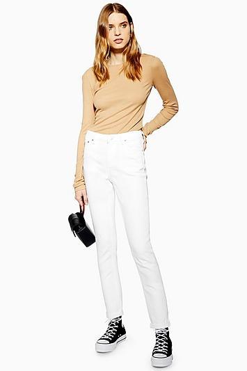 Topshop White Lucas Jeans