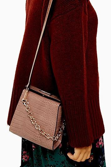 Topshop Sami Pink Shoulder Bag