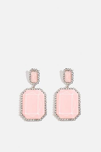 Skinny Dip Pink Glam Earrings By Skinnydip