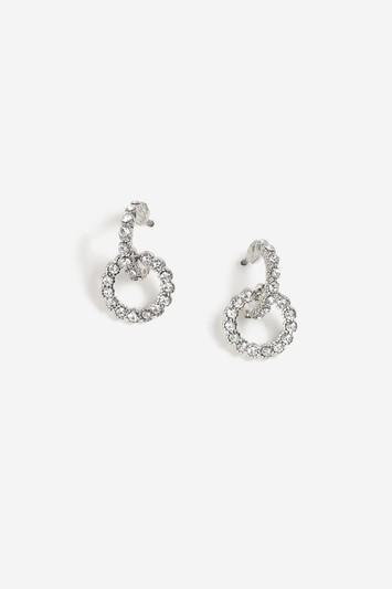 Topshop Circle Link Earrings
