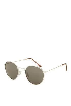 Topshop Metro Metal Round Sunglasses