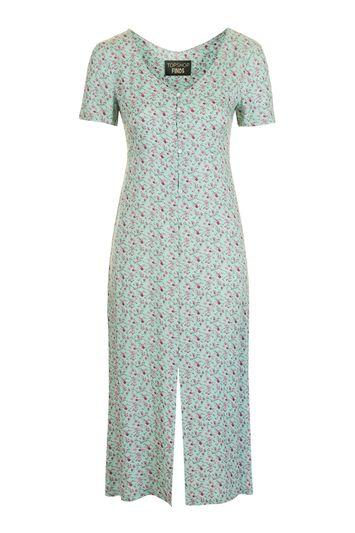 Topshop Floral Midi Dress By Topshop Finds
