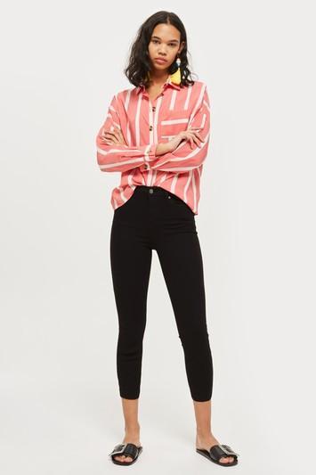 Topshop Jamie Crop Jeans