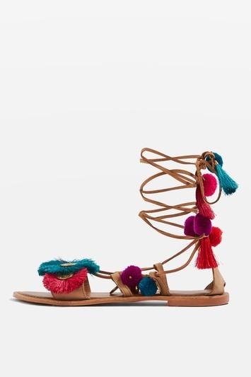 Topshop Honey Coin Sandal