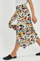 Topshop Metro Sash Skirt By Boutique