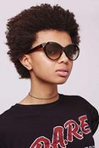 Topshop Simone Feline Sunglasses
