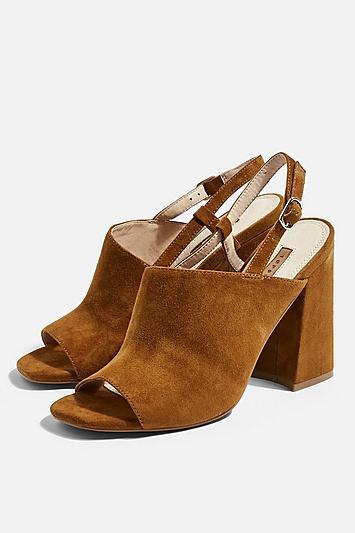 Topshop Rashida Heeled Sandals