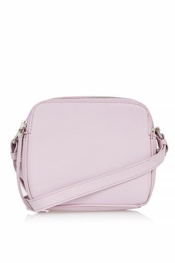Topshop Orlo Leather Boxy Crossbody Bag
