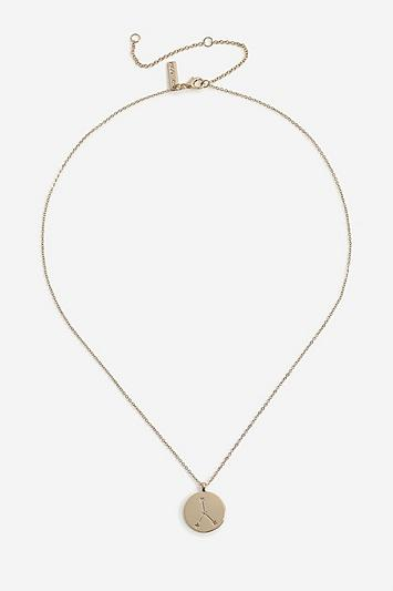 Topshop *cancer Constellation Ditsy Necklace
