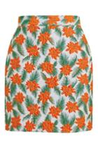 Topshop Tangerine Dream Skirt