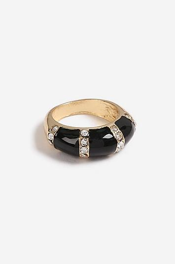 Topshop *enamel Crystal Ring