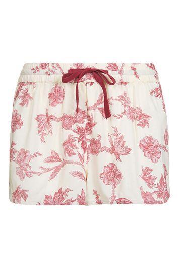 Topshop Wallpaper Pyjama Shorts