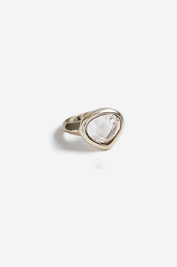 Topshop *stone Set Ring