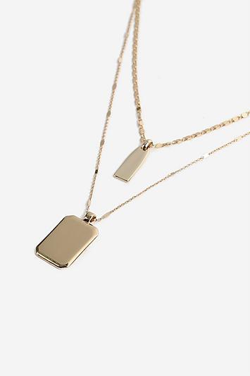 Topshop *tag Multi Row Necklace