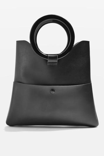 Topshop Cookie Ring Shopper Bag