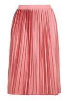 Topshop Petite Jersey Pleat Skirt