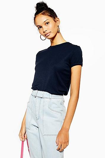 Topshop Petite Premium Clean T-shirt