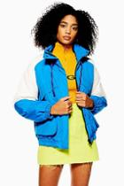 Topshop Padded Windbreaker Jacket