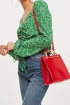 Topshop Lizzie Crossbody Tote Bag