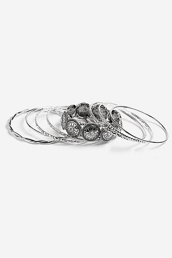 Topshop *ethnic Bangle Pack