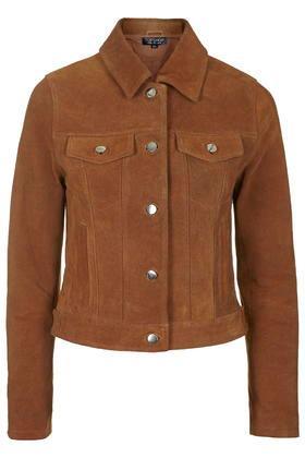 Topshop Suede Western Jacket