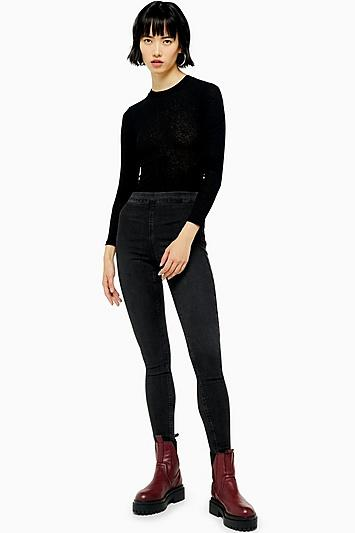 Topshop Super Skinny Flat Front Jean