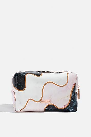 Skinny Dip *marble Wiggle Makeup Bag By Skinnydip