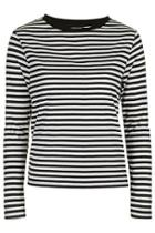 Topshop Tall Striped Top