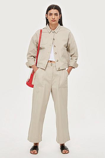 Topshop *wide Leg Trousers By Native Youth