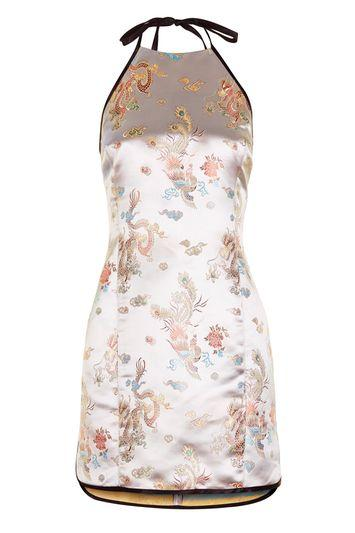 Topshop Eastern Halter Dress By Topshop Finds