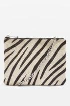 Topshop Oakley Zip Cross Body Bag