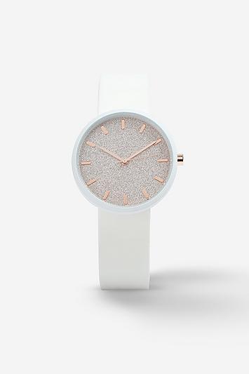 Topshop *silicone Glitter Watch