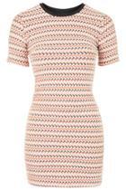 Topshop Textured Bodycon Dress