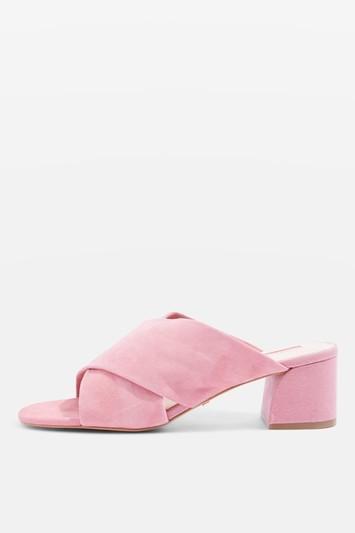 Topshop Norti Cross Strap Sandals