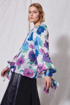 Topshop *floral Blouse By Boutique