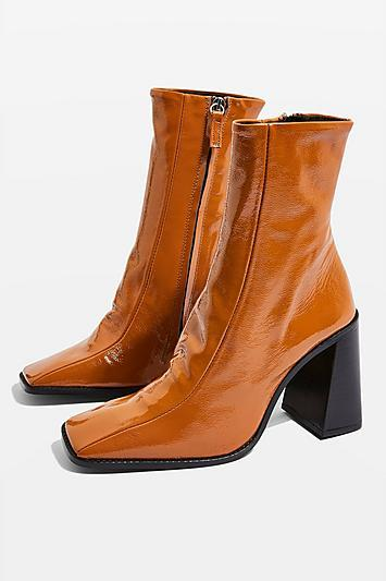 Topshop Hurricane Leather Boots