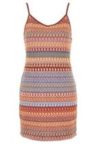 Topshop Tall Crochet Bodycon Dress